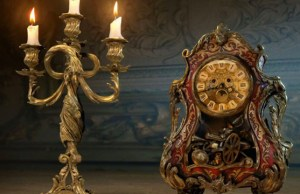 Cogsworth and Lumiere