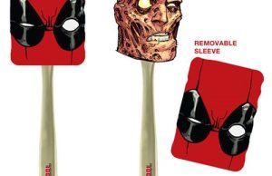 Deadpool Spatula With a Removable Mask