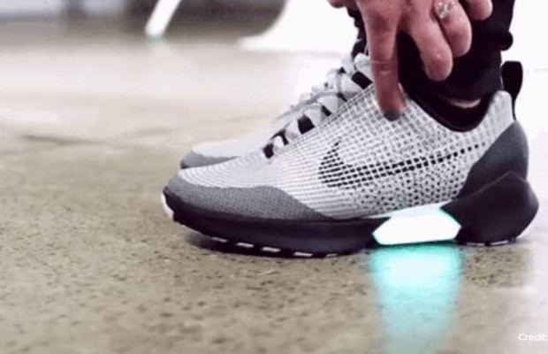 Nike's Self-Lacing Sneakers