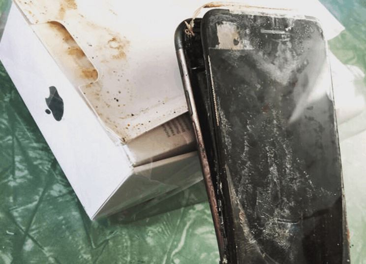 Now the iPhone 7 is Exploding Too
