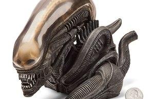Alien Xenomorph Vinyl Coin Bank