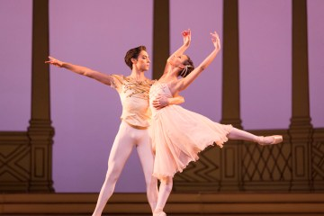 Rhapsody by the Royal Ballet