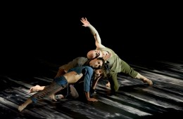 "LA Dance Project in Sidi Larbi Cherkaoui's ""Harbor Me."" Photograph by Andrea Stappert"