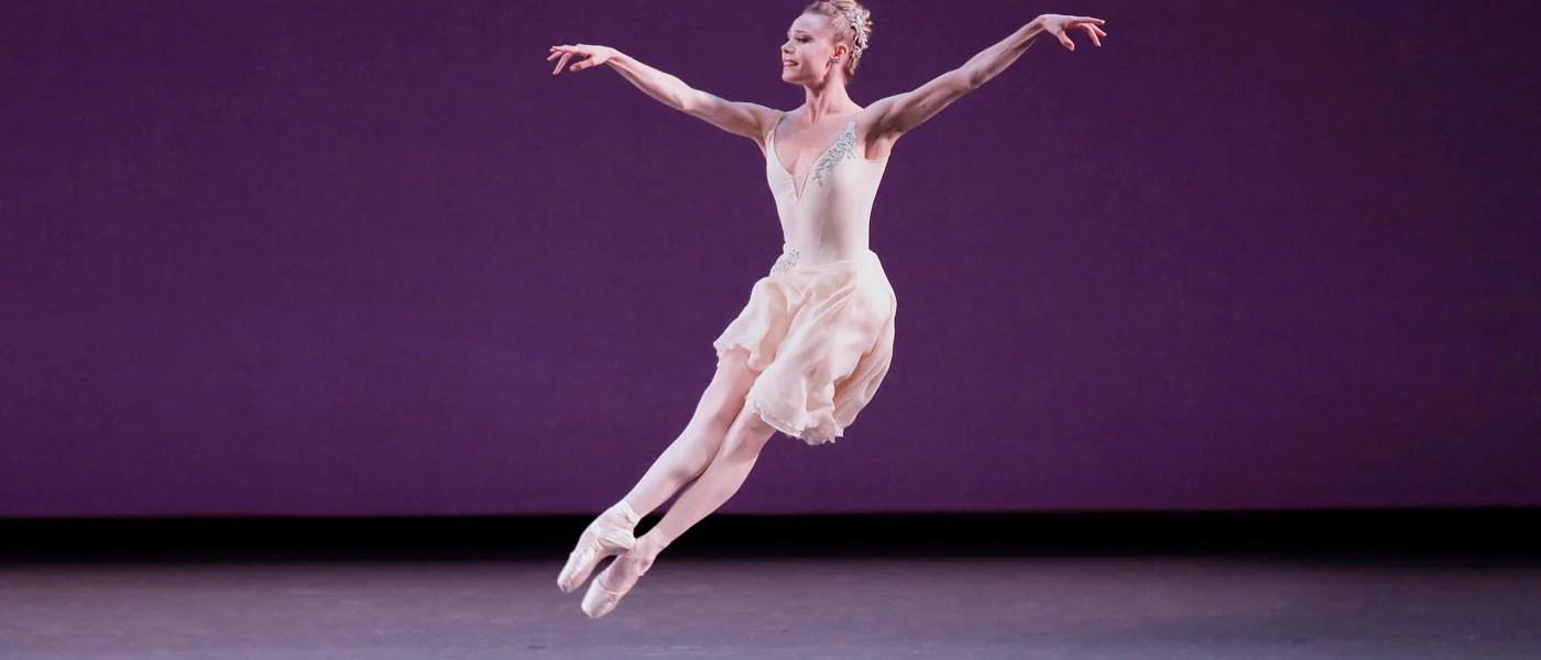 "Sara Mearns in George Balanchine's ""Walpurgisnacht Ballet."" Photograph by Paul Kolnik"
