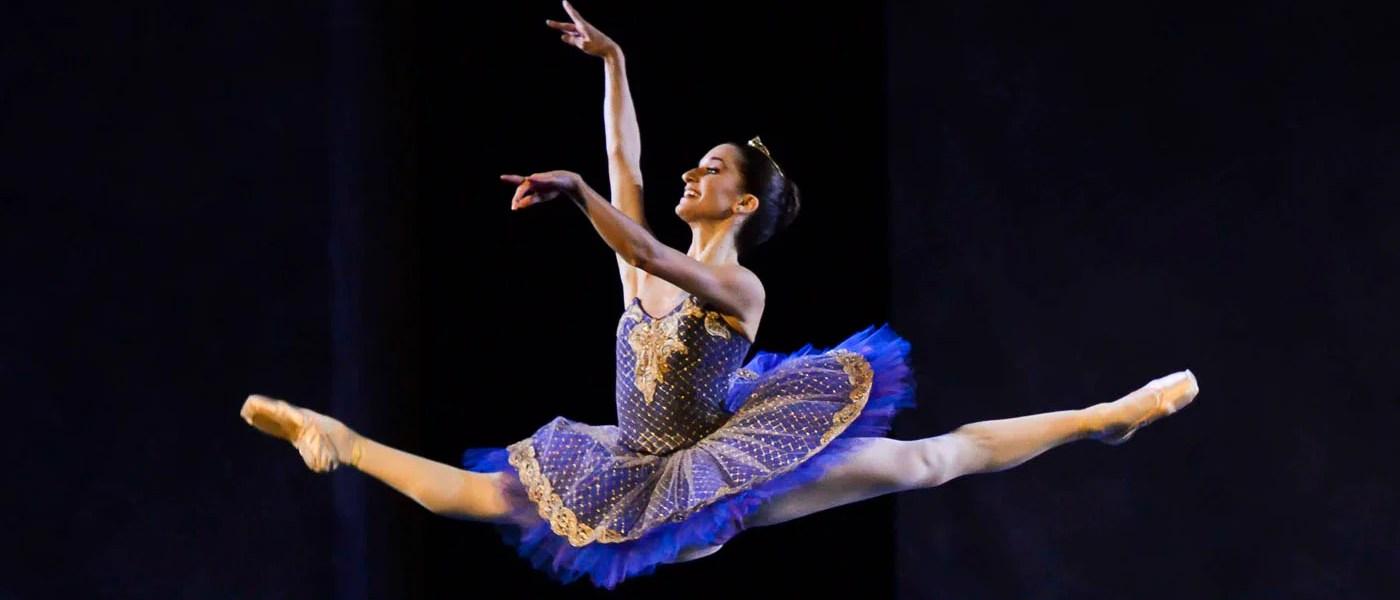 """Sara Renda in """"Le Corsaire"""" at Fiesole, Dance Gala. Photograph Alessandro Botticelli"""