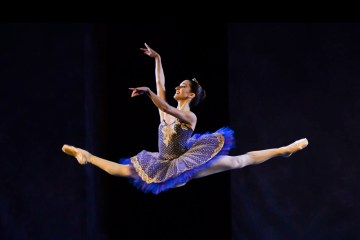 "Sara Renda in ""Le Corsaire"" at Fiesole, Dance Gala. Photograph Alessandro Botticelli"