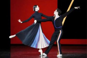 """Paris Opera Ballet in Justin Peck's """"Entre Chien et Loup."""" Photograph by Francette Levieux"""