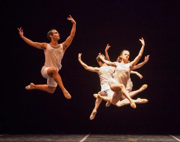 "Ballet Austin in ""Dvořák Serenade."" Photograph by Anne Marie Bloodgood"