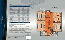 Al Wasay Towers Karachi (Layout Plan Flat Type-A1 & Payment Plan)