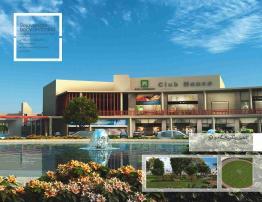 Naya Nazimabad Karachi - Master Plan Club House Conceptual View