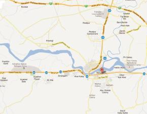 Paradise City Noshehra Map