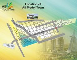 Ali Model Town Islamabad - Location Map