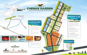 Chenab Garden Sialkot Master Plan