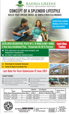 Bahria Greens Housing Scheme Islamabad