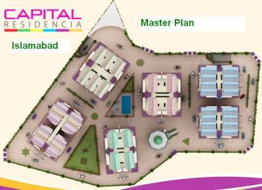 Capital Residencia Islamabad - Master Plan Detail Layout