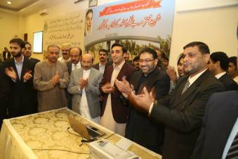 Benazir Town plots balloting Results in Karachi (3)