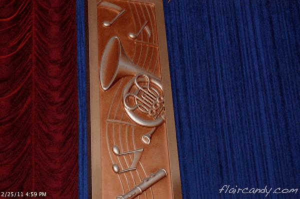 Hidden Mickey at Philharmagic Hong Kong Disneyland