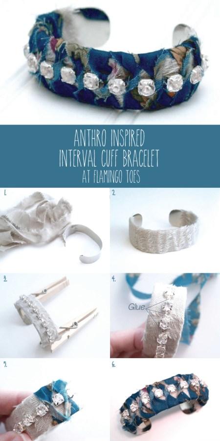 Anthro-Inspired-Interval-Cuff-Bracelet