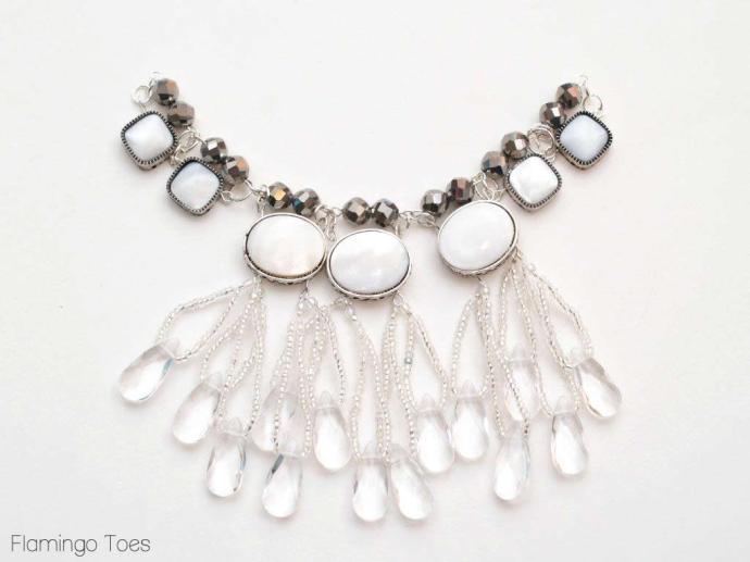 beading necklace tutorial