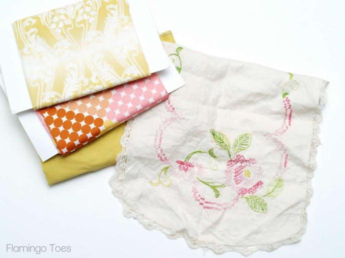 Vintage Runner and Fabrics