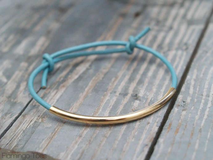 Leather Cording Bracelet