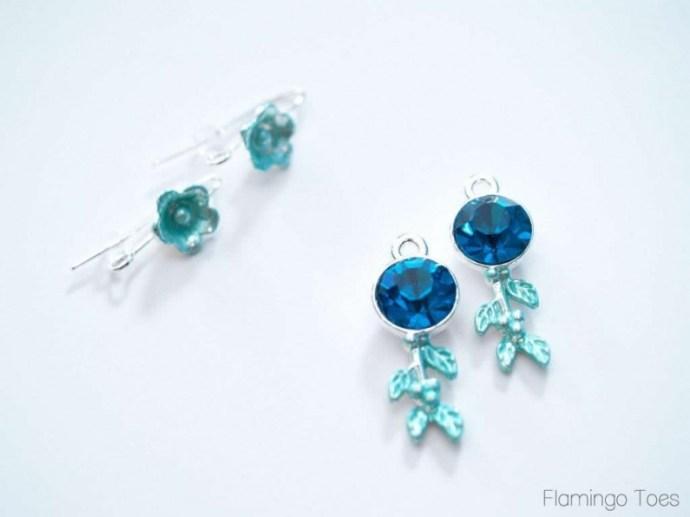 making earrings