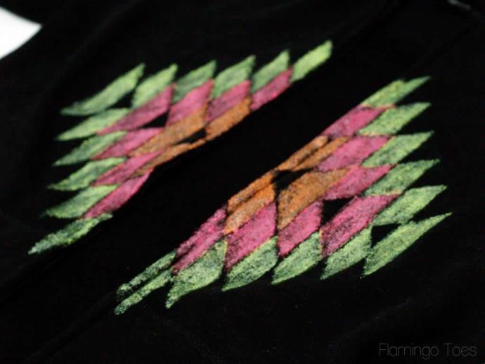 aztec beach hoodie