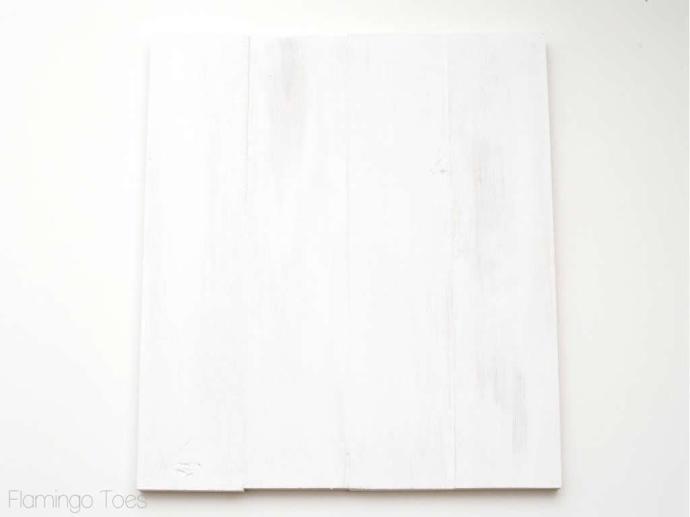 White Wooden Artwork