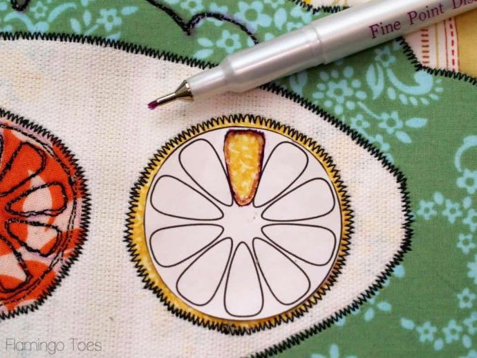 embroidery marking