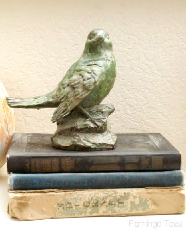 Pretty Bird and Books