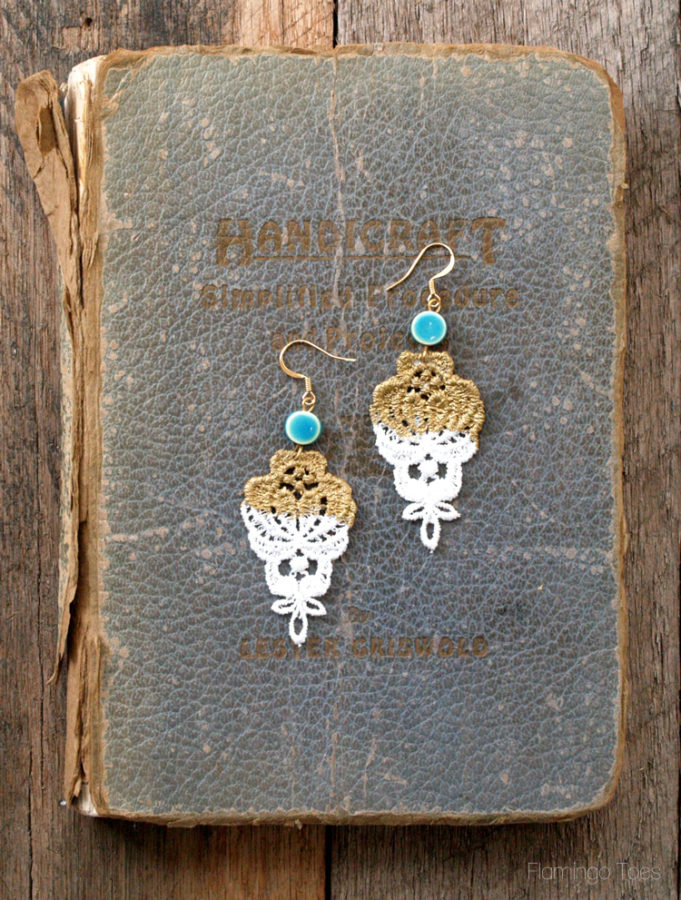 Spring Lace Earrings