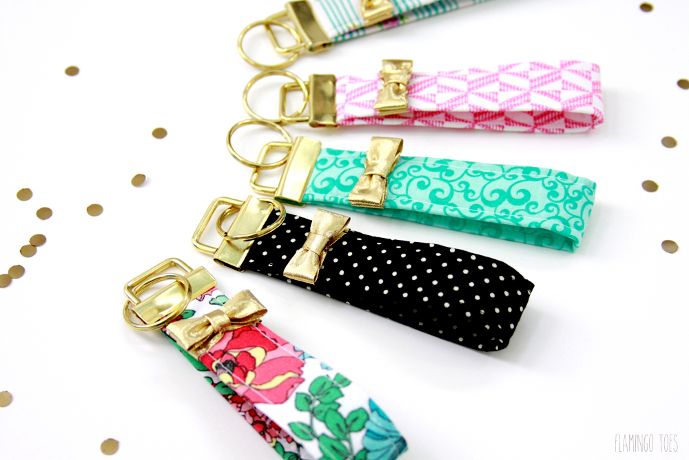Kate Spade Inspired Key Fobs