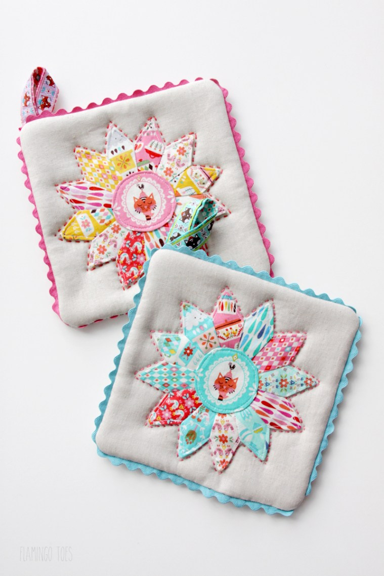 Cute and Colorful Potholders