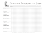 free printable for tracking medicines