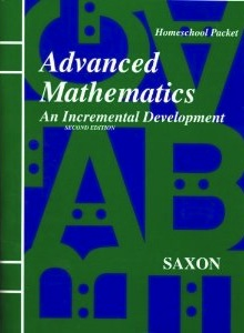 Saxon Advanced Math