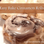 Super simple recipe for homemade cinnamon rolls from www.flandersfamily.info