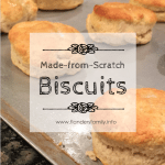 Scrumptious recipe for old-fashioned biscuits