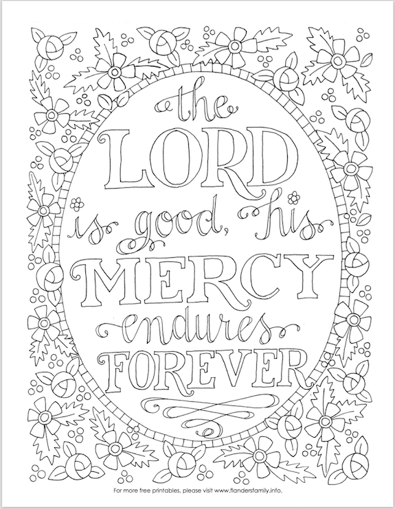 Free Christian Coloring Pages for Adults - Roundup - JoDitt Designs