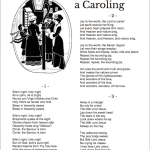 Free printable Christmas Carol Lyric Sheets
