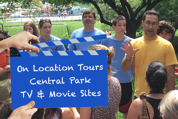 On Location NYC Central Park TV & Movies Tour. We had a wonderful time!