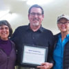 Gael presents Susannah & Dan Casey with Conservation Achievement Recognition - Photo Credit: John Winnie