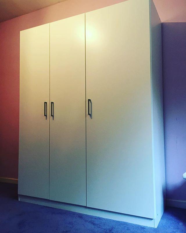 #IKEA Dombas 3 door wardrobe assembly, Brighton.