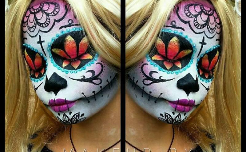 Chyla Guerrero Halloween makeup