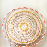 hula hoop woven rug -8554-2
