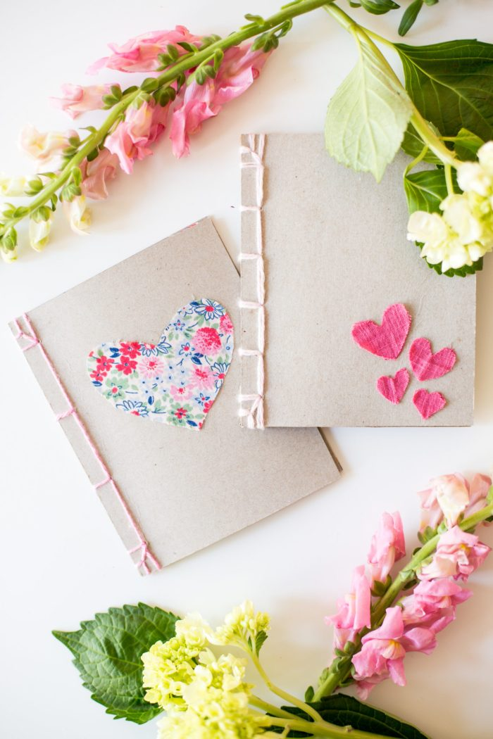 Heart Notebooks - Flax & Twine