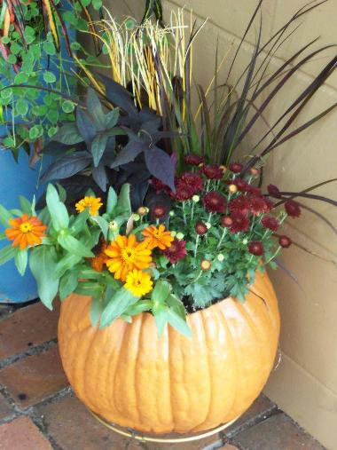 Container created by Garden Whimsies by Mary