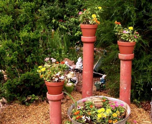 Judy Enzmann's terracotta towers