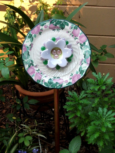 Dish Flower