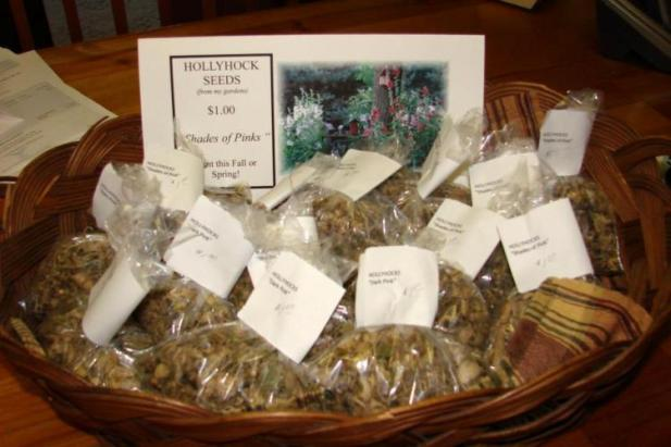 Jeanne Sammon's seed packets for sale