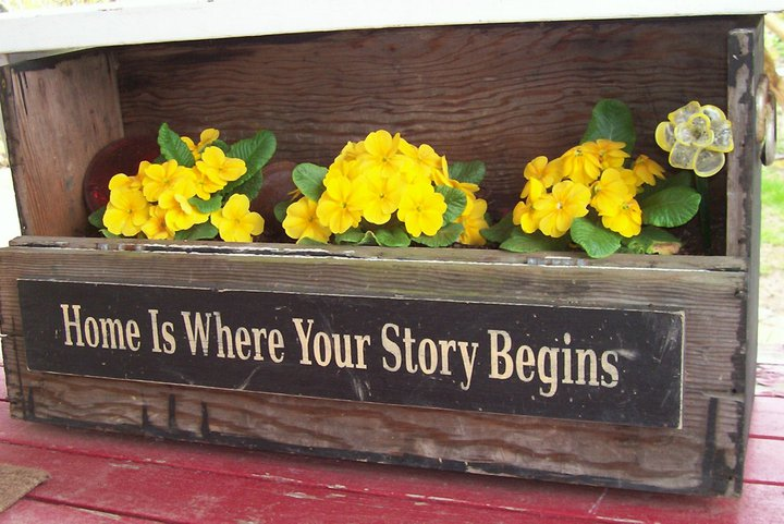 """Home is Where your Story Begins"""